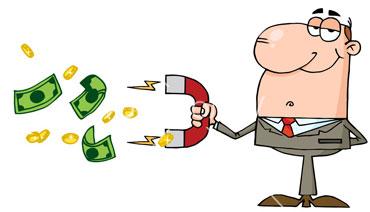 денежное притяжение